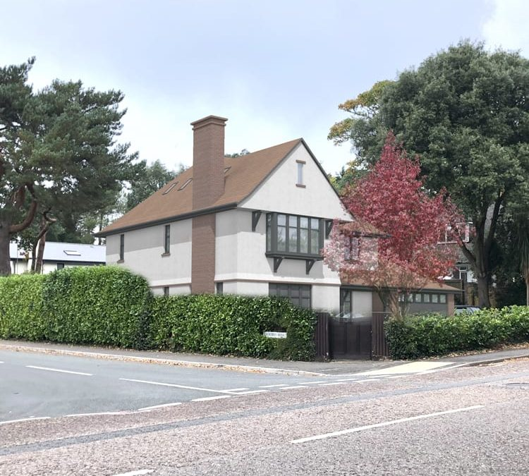 Planning consent for replacement dwelling