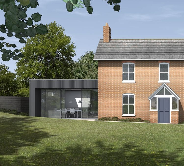 Planning Consent for extensive extension to period cottage in dorset