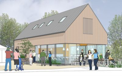 Planning Consent for new Cafe and apartment in Crossways, Dorchester – Architects Dorchester